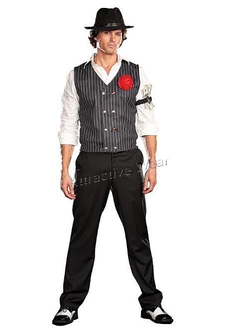 Как сделать костюм гангстера