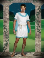 7487 Dreamgirl Costume, It s Chic to be Greek Grecian style tunic