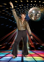 8162 Dreamgirl Male Costume, Stayin' Alive, Disco inspired stunning h