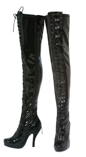 Ph423-Ava Penthouse Shoes, thigh high boots