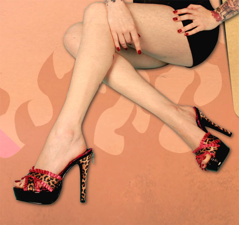 Ph523-Ginger Penthouse Shoes By Ellie