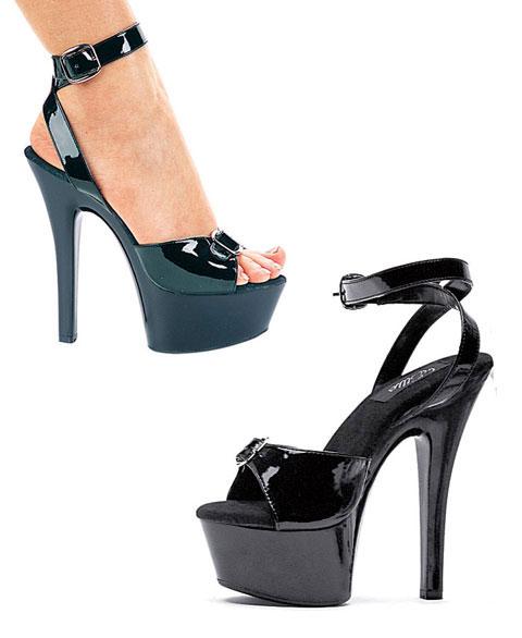 601-Nicole Ellie Shoes, 6 inch stiletto