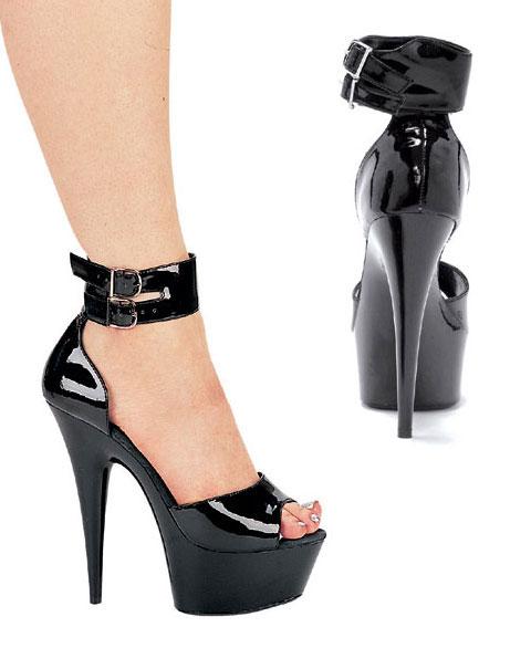 609-Aliya Ellie Shoes, 6 inch pointed
