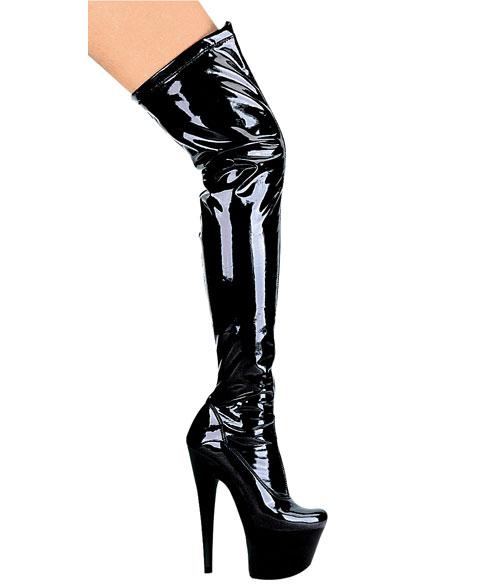88ffbc2c49e64 709-Fantasy Ellie Shoes, 7 Inch Pointed Stiletto high heels Platforms