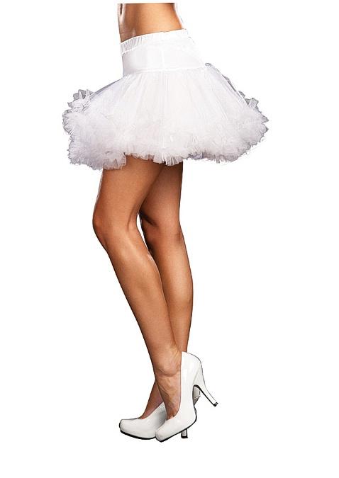 Ursula Petticoat Dreamgirl 4582 White
