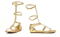 015-Cairo Ellie Shoes, Gladiator Flat  Sandal.