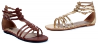 015-Rome Ellie Shoes, gladiator flat  sandals