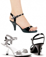 305-Juliet Ellie Shoes, 3 Inch Stiletto Heels  Sandals.