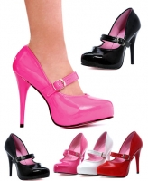 469-Ladyjane Ellie Shoes, 4.5 Inch high heels Pointy Toe Pumps concea