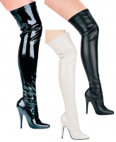 511-Ally Ellie Shoes, 5 Inch high heels Thigh High  Boots