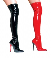 516-Fantasy Ellie Shoes, 5 Inch high heels Thigh High  Boots With