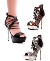 567-Africa Ellie Shoes, 5 Inch Stiletto High Heels