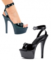 601-Nicole Ellie Shoes, 6 inch stiletto high heels Ankle Strap