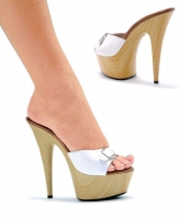 609-Barbara Ellie Shoes, 6 inch pointed Stiletto high heels