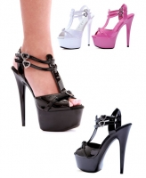 09-Charm Ellie Shoes, 6 Inch Pointed Stiletto High Heels