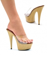 609-Mya Ellie Shoes, 6 inch pointed Stiletto high heels