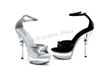 Exotic 6 Inch Heel With 2 Inch Platforms  Shoes