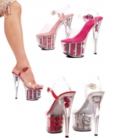 709-Blossom Ellie Shoes, 7 inch pointed Stiletto high heels