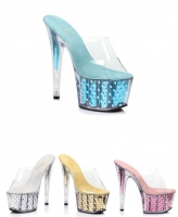 709-Brielle Ellie Shoes, 7 Inch Stiletto High Heels Platform Shoes