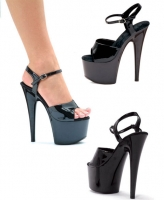 709-Juliet Ellie Shoes, 7 inch pointed Stiletto high heels