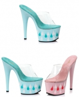 709-Teardrop Ellie Shoes 7 Inch Stiletto Heels Platform  Shoes