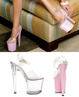 821-Brook Ellie Shoes, 8 inch Pointed Stiletto high heels