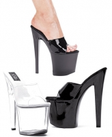821-Vanity Ellie Shoes, 8 inch Pointed Stiletto high heels