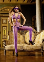 319 Baci Lingerie, purple  lace bodystocking