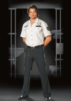 4479 Dreamgirl Costume, Sergeant Dick Amazing, Prison guard shirt