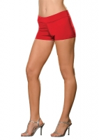 4575 Dreamgirl Costume, Roxie Hot Short, Basic stretch knit hot short