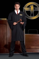 5852 Dreamgirl Men Costume, Judge Gil T. Verdict, Judge
