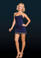 7000 Dreamgirl Costume, Blue Official Dress, Stretch microfiber dress