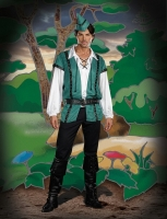 7498 Dreamgirl Costume, Robin Hood Up to No Good Long sleeve adjustab