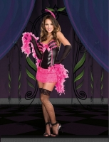7622 Dreamgirl Costume, I m Just Teasin Corset style dress ruffled