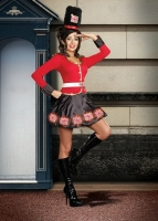 8107 Dreamgirl Costumes, De-LIGHTfully British British inspired stret
