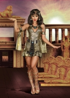8126 Dreamgirl Costumes, naughty on the nile, Stunning holographic go