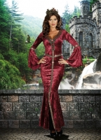 8128 Dreamgirl Costumes, Come To Camelot, Elegant full-length soft cr