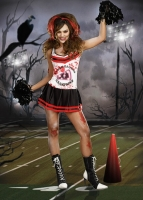 8249 Dreamgirl Costumes, Dyin to Win, Blood splattered Cheerleader