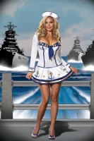 5985X Dreamgirl Plus Size Costume, Makin Waves Costume,  Stretch knit
