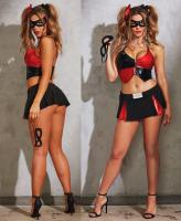 10585 Dreamgirl, Naughty Harlequin bedroom costume