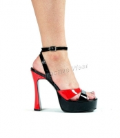 Exotic 5 Inch Chunky Heel Wiht 1.25 Inch Platforms  Shoes