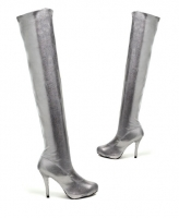 5034 Cosmic Leg Avenue Shoes, 5 Inch Heels Pump Concealed Platforms Z
