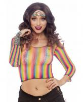 81600 Leg Avenue Rainbow fishnet top