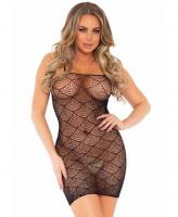 86162 Leg Avenue Shell net dress