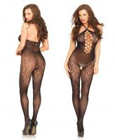 89188 Leg Avenue Seamless halter bodystocking