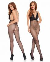 89216 Leg Avenue, Net and lace backless