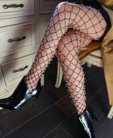 9029 Leg Avenue fence net tights