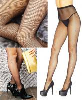 9030 Leg Avenue Crystalized fishnet tights