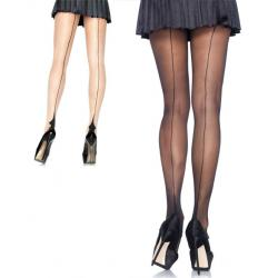 9132 Leg Avenue, Spandex sheer cuban heel backseam pantyhose
