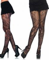 9755 Leg Avenue, Patchwork multi lace tights.